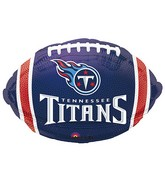 Junior Shape Tennessee Titans Team Colors Balloon