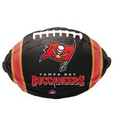 Junior Shape Tampa Bay Buccaneers Team Colors Balloon