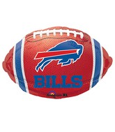 Junior Shape Buffalo Bills Team Colors Balloon