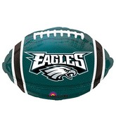Junior Shape Philadelphia Eagles Team Colors Balloon
