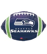 Junior Shape Seattle Seahawks Team Colors Balloon