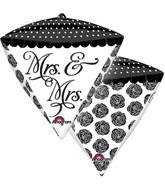 "15"" x 17"" Mrs & Mrs Sophistication Diamondz"