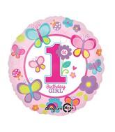"18"" Sweet Birthday Girl Balloon"