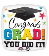 Jumbo Grad, You Did It! Balloon