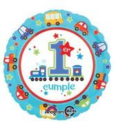 """18"""" Primera Cumpleanos Tren Balloon"""