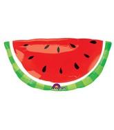 """32"""" SuperShape Watermelon Balloon"""