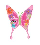 """37"""" SuperShape Happy Mother's Day Floral Pattern"""