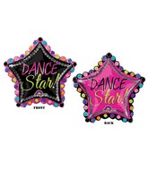 "30"" SuperShape Dance Star Balloon"