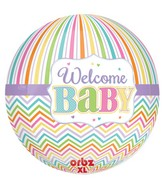 "16"" Orbz Baby Brights Balloon Packaged"