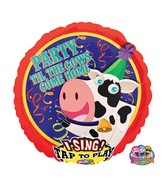 """28"""" Singing Party til Cows Come Home Packaged"""