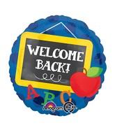 """18"""" Welcome Back Chalkboard Balloon"""