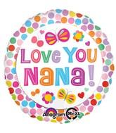 """18"""" Love You Nana Balloon"""