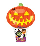 "27"" Junior Shape Pumpkin Hot Air Balloon Balloon"