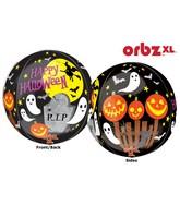 """16"""" Orbz Spooky Scene Balloon Packaged"""