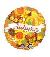 """18"""" Autumn Inspired Balloon Packaged"""