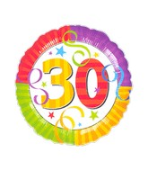"""18"""" Perfection 30 Balloon Packaged"""