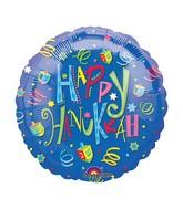 """18"""" Hanukkah Fun Balloon"""