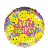 """18"""" Smiles Balloon Packaged"""