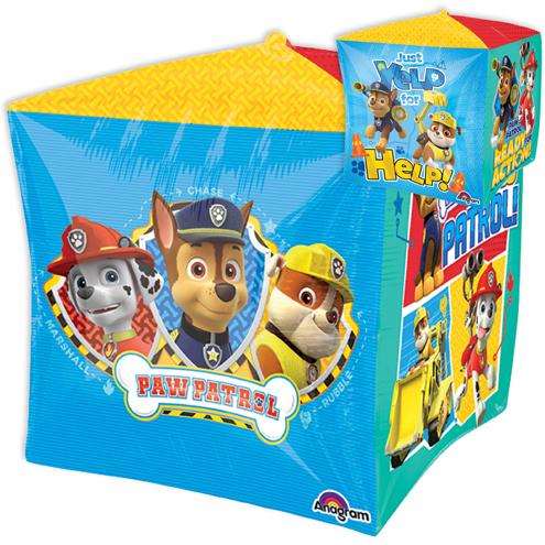 "15"" Cubez Jumbo Paw Patrol Balloon Packaged"