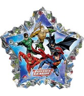 "34"" Jumbo Justice League Shape Balloon"