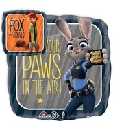 "18"" Zootopia Balloon Packaged"