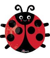 "19"" Happy Lady Bug Balloon"
