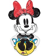"34"" Jumbo Minnie Rock the Dots Balloon"