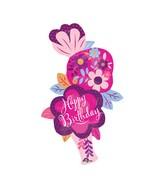 """41"""" Jumbo Dainty Floral Stacker Vase Balloon"""