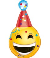 "25"" BDay Emoji Balloon"