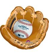 """25"""" Jumbo Major League Baseball Shape Balloon"""