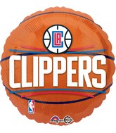"18"" LA Clippers Balloon"