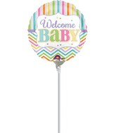 """9"""" Airfill Only Baby Brights Balloon"""