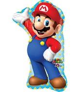 """33"""" Jumbo Mario Bros Balloon Packaged"""