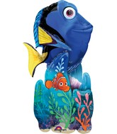 "55"" Airwalker Finding Dory Balloon Packaged"