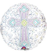 """18"""" Radiant Cross Balloon"""