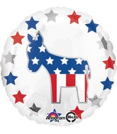 "18"" Election Donkey Balloon"