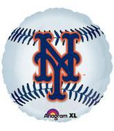 "18"" MLB New York Mets Baseball Balloon"