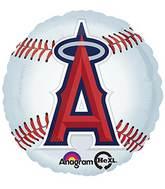 "18"" MLB L.A. Angels of Anaheim Baseball Balloon"