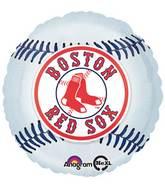 """18"""" MLB Boston Red Sox Baseball Balloon"""