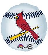 """18"""" MLB St. Louis Cardinals Baseball Balloon"""