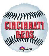 "18"" MLB Cincinnati Reds Baseball Balloon"