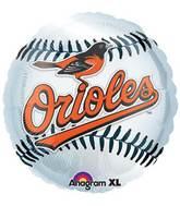 "18"" MLB Baltimore Orioles Baseball Balloon"