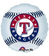"""18"""" MLB Texas Rangers Baseball Balloon"""