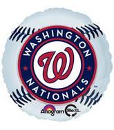 "18"" MLB Washington Nationals Baseball Balloon"
