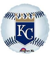 """18"""" MLB Kansas City Royals Baseball Balloon"""