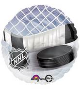 "18"" NHL Mylar Balloon Puck & Stick"