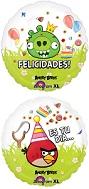 "18"" Angry Birds Feliz Cumpleanos Balloon"