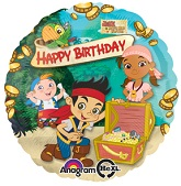 "18"" Jake &The Never Land Pirates HBD"