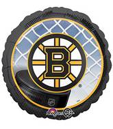 "18"" Boston Bruins Wings NHL Mylar Balloon"