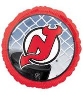 "18"" NHL New Jersey Devils Mylar Balloon"
